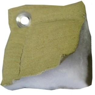 Тент утепленный (термомат) трехслойный брезент 2х3,с люверсами