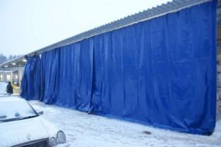 Промышленная штора ПВХ